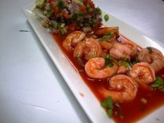 THE BEST SHRIMP CEVICHE