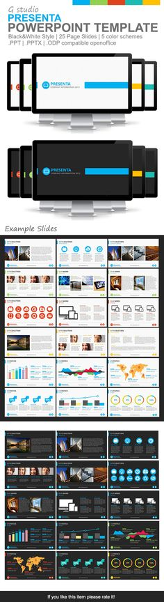 Gstudio Presenta Powerpoint Template  #creative #teal #business • Click here to download ! http://graphicriver.net/item/gstudio-presenta-powerpoint-template/4468573?s_rank=1374&ref=pxcr