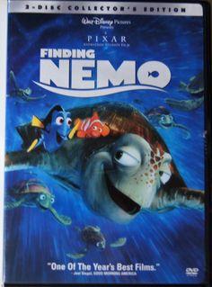 Finding Nemo Dvd Full Screen Disc, - Disney Pixar Studios in DVDs & Blu-ray Discs Finding Nemo Dvd, Finding Nemo Poster, Disney Pixar, Disney Movies, Disney Movie Posters, Disney Wiki, Disney Cars, Walt Disney, Films Hd