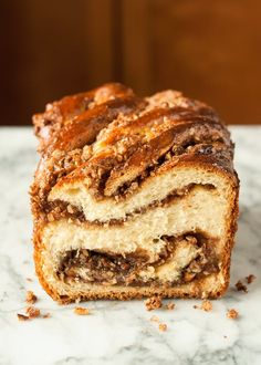 Recipe: Sticky Caramel-Pecan Babka Loaves — Recipes from The Kitchn | The Kitchn
