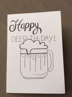 Handlettering Birthdays happy birthday meme for her Happy Birthday Bear, Free Happy Birthday Cards, Funny Birthday Cards, Diy Birthday, Birthday Beer, Birthday Gifts, Happy Birthdays, Handlettering Happy Birthday, Caligraphy Happy Birthday
