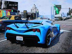 i love the Grand turismo car on GTA V