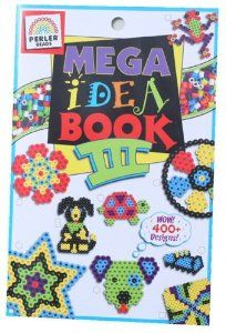 Perler Beads Books: Fun Fusion Mega Idea Book III by Perler Beads. $4.45. Brand New Item / Unopened Product. Perler. PE-22745. 048533227457. Another mega book of great Perler bead ideas featuring more than 400 designs. Easy find categories are organized by theme: example: girls, boys, under the sea, sports, monsters, etc. Pegboard and beads are not included. Softcover: 23 pages. Made in USA.