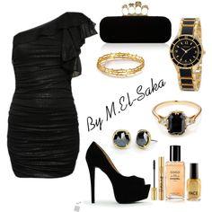 """""""Black Set"""" by mohamed-el-saka on Polyvore"""