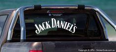 Jack Daniel's Sticker | Worldwide Post | Range Of Sticker Colours