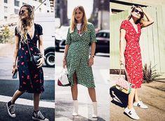 Trendy tea dress Tea Dresses, Dresses With Sleeves, Wrap Dress, Long Sleeve, Fashion, Moda, Sleeve Dresses, Long Dress Patterns, Fashion Styles