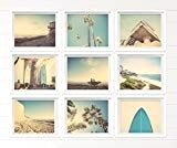 Surf Beach Themed Fine Art Photography Set of 9 on Photo Paper Prints, beach photos, , yellow, turquoise, sunset, retro, vintage surf home decor, beach wall art  Surf Beach Themed Fine Art Photography Set of 9 on Photo Paper Prints, beach photos, , yellow, turquoise, sunset, retro, vintage surf home decor, beach wall art Product DescriptionThis listing is for a set of 9 Beachy Surf photos ready to go in your frames in whatever size you choose from the drop down menu.…   Read More »  ..