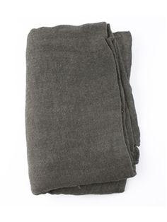 Pomandere - Knit Fringe Scarf Grey
