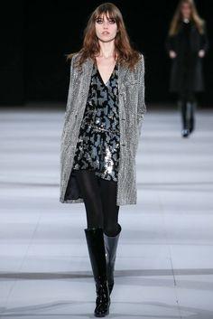 Saint Laurent Fall 2014 Ready-to-Wear Fashion Show - Grace Hartzel (Next)