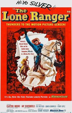 The Lone Ranger #2 - 1956 - Movie Poster