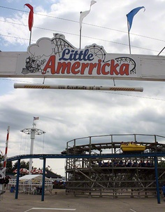 One of my favorite places when I was little...Little Amerricka in marshall, WI.