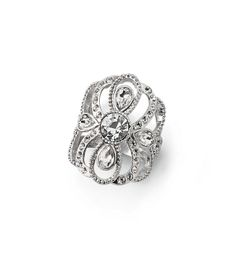 Cocktail rings: The Florence ring is fit for a queen.