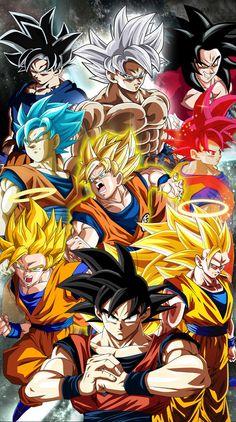 Transformaciones Goku