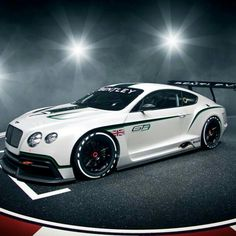 Awesome Brand New Bentley Continental GT3