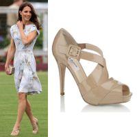 Kate Middleton in LK Bennett peep toe pumps