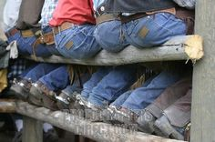 once again those butts & spurs