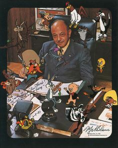 Thank you, Mel Blanc. He was also absolutely ASTOUNDING on radio too!