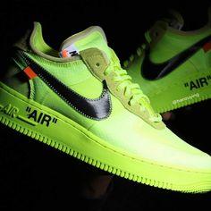 9372325e48a4 Off-White Nike Air Force 1 Volt Photos