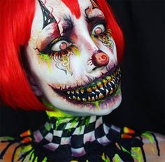 50 Terrifyingly Creative Halloween Makeup Ideas To Try | Fashionisers