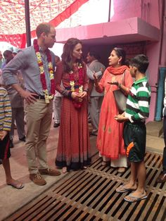 Kate and William visiting Salaam Baalak that helps vulnerable street kids living in the Delhi train station. The couple are continuing to focus on mental health.