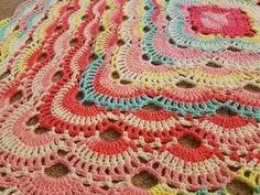 The Virus Blanket Crochet Tutorial!  (Part 1) - YouTube