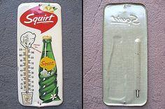 60s SQUIRT スクワート 温度計 看板です!