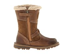 Timberland Kids - Earthkeepers® Asphalt Trail Skyhaven Tall Boot w/ Faux Sherling (Toddler/Little Kid) - Bronze Natural