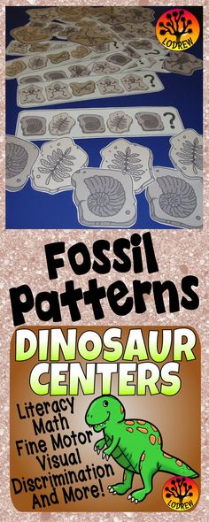 206 pages of dinosaur centers. Activities include literacy, math, patterns, shapes, numbers, counting, beginning sounds, color words, ten frames, beginning sounds, tally marks, size sorting, letter matching, shapes, subitizing, number sets, visual discrimination, number words, cardinality, fine motor, and more. For kindergarten, preschool, SPED, child care, homeschool, or any early childhood setting.