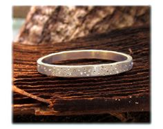 14 k Gold Ehering Gold Sparkle Ring Ring von BossStudiosJewelry