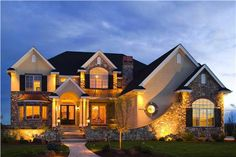 These Houseplans have a lot of curb appeal.