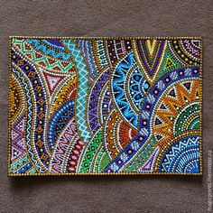 Point to point, puntillismo, dot art dot art flower page, 278 best dot art and stone painting! Mandala Design, Mandala Art, Mandala Painting, Mandala Pattern, Mosaic Patterns, Dot Art Painting, Stone Painting, Painting Patterns, Aboriginal Art