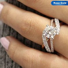 Wedding Rings For Women, Wedding Ring Bands, Best Wedding Rings, Western Wedding Rings, Wedding Ring Sets Unique, Elegant Wedding Rings, Wedding Rings Rose Gold, Luxury Wedding, Dream Wedding