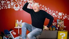 Charles Martinet the voice of Mario of the Mario franchise