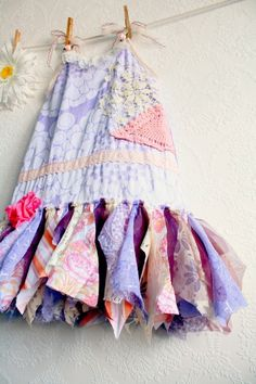 Shabby Chic Toddler Dress Children's Clothing Woodland Fairy Dress ...