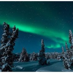 Aurora over Fairbanks, Alaska, USA