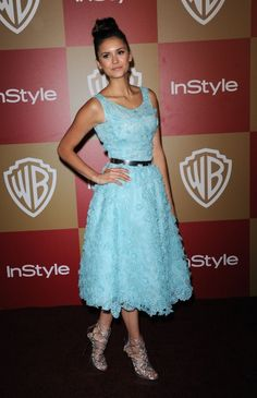 Nina Dobrev at the WB In Style After Golden Globe Party at the Hilton in Los Angeles, CA.