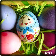 Babushka Easter Egg