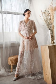 A curation of apparel for the bride to be, bridesmaids, and mother of the bride. Find the perfect look for that special day. We also offer ready-to-wear and made by order bridesmaid dresses here. Dress Brukat, Hijab Dress Party, Kebaya Dress, Batik Dress, Lace Dress, Best Wedding Dresses, Long Bridesmaid Dresses, Dressy Jumpsuit Wedding, Dress Brokat Modern