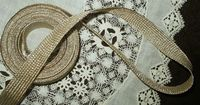 1920's Vintage Gold Metallic Flat Braid Trim Embellishment Flapper Age  $22.50 http:www.the-gatherings-antique-vintage.net