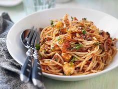 pasta-med-halloumi-recept