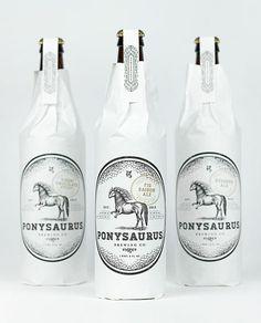 Ponysaurus Brewing Co. designed by Baldwin&