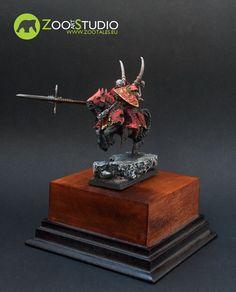 Vampire Lord on horseback. Converted and painted by Zoo Art Studio Zoo Art, Wordpress, Lord, Miniatures, Fantasy, Studio, Studios, Fantasy Books, Fantasia