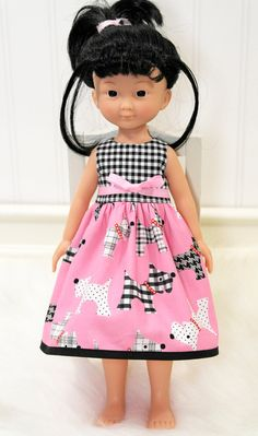 Corolle Les Cheries Doll Clothes Dress Heart for by LittleNoel,