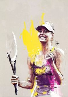 Maria Sharapova by Florian Nicolle