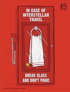 Falls ihr mal nicht wissen solltet, wo euer Handtuch ist …
