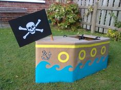 Fancy dress Pirate Ship by nelda