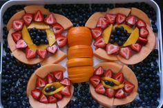 Beautiful fruit plate!
