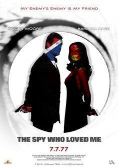'The Spy Who Loved Me' - Teaser 2 Bond Series, Spy Who Loved Me, Roger Moore, Make Art, James Bond, Good Movies, My Friend, Cinema, My Love