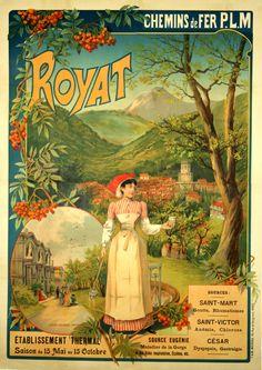 Royat - France - 1910 -