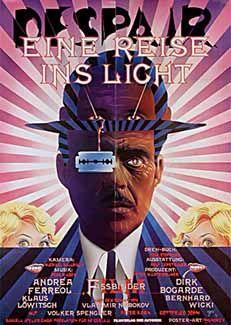 Despair 1978 W Germany Dir Rainer Werner Fassbinder Movie Posters Vintage Best Movie Posters Movie Posters